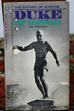 Rare Duke Kahanamoku Of Hawaii Father Of Surfing Book 1St Edition 1968 Hawaiiana