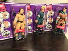 "REAL GHOSTBUSTERS: RETRO-ACTION 8"" ACTION FIGURE LOT VENKMAN, SPENGLER, STANZ"