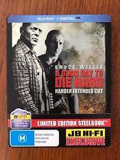 A Good Day To Die Hard Steelbook Blu-ray RegionB Disc VGC Bruce Willis