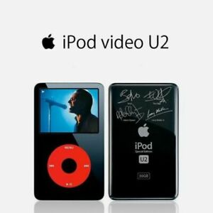 NEW Apple IPod Classic 5th Generation U2 Special Edition  30GB-90Days Warranty