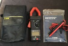 Aemc Model 701 Clamp On Meter With Leads Manual And Case Free Shipping
