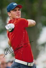 Martin Kaymer Hand Signed 12x8 Photo Golf PGA Champion 2.