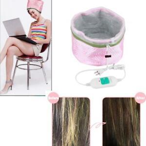 Electric Hair Thermal Hat Treatment Heating Steamer SPA Nourishing Cap Hair Care