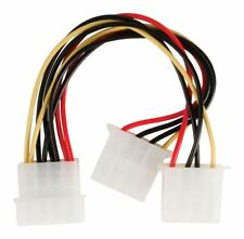 Glaxio Molex power splitter cable Molex male - 2x Molex female 0.15m
