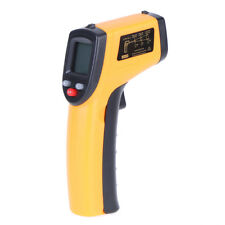 Digital Pyrometer Non contact LCD Laser Temperature Gun Infrared Thermometer