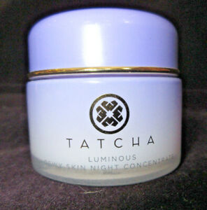Tatcha Luminous Dewy Skin Night Concentrate 50 ml/1.7 fl oz Used Missing 20%