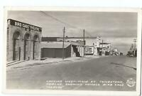 RPPC Postcard Looking West Main St Tombstone AZ Bird Cage Theatre 1941
