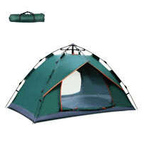 2 Person Rapid Setup Pop Up Beach Tent Sun Shelter UV Protection for Camping