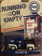 Greenlight Running On Empty 1956 Ford F-100. Tow Truck PURE OIL