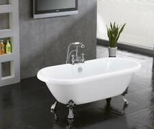 59-inch Acrylic Clawfoot Dual End Bathtub