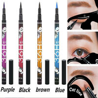New Nice Multi-color Eyeliner Waterproof Liquid Comestics Eye Liner Pencil Pen