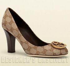 Gucci Pumps, Classics Canvas Medium (B, M) Heels for Women