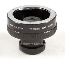 Adaptor, Minolta MD Lens to Telescope or Spotting Scope, Other Fittings Listed.