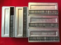 """Lot of 5 Airequipt Argus 2""""x 2"""" Automatic Slide Changer Magazine Holds 36 Each"""