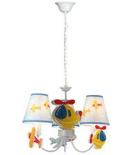 Kinder Pendelleuchte Hubschrauber Farbige Kinderzimmer Deckenlampe Lüster