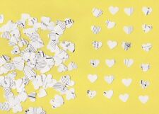 1.5cm Heart Shaped Confetti made from vintage sheet music (approx 1000 hearts)