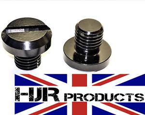 2 x HJR Products Mirror Blanking Plugs Bolts KTM Super Duke 890 390 125 1290 790
