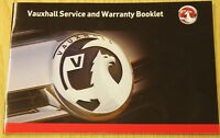 GENUINE VAUXHALL SERVICE HISTORY BOOK FOR PETROL AND DIESEL NO DUPLICATE #B