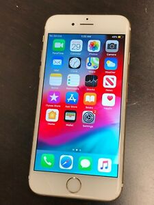 Apple iPhone 6s - 64GB - Gold (AT&T) A1633 (CDMA + GSM)
