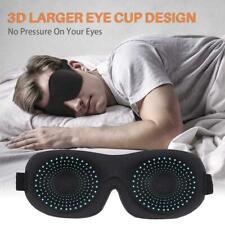 3D Eye Mask Sleep Soft Padded Shade Cover Rest Relax NEW Sleeping Blindfold J7R6