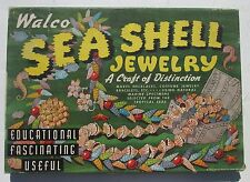 Walco Sea Shell Jewelry Craft Kit Vintage 1945 Outfit No. 3310 Bead
