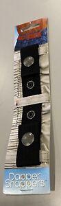 Kids DAPPER SNAPPER Adjustable Toddler Belt Little Belts With Snaps Black