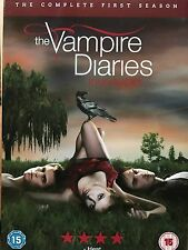 THE VAMPIRE DIARIES ~ Season 1 ~ Teen Horror Drama Series UK DVD w/ Slipcover