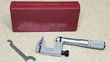 """Starrett No. 220 mul-t-anvil 0"""" to 1"""" micrometer - carbide"""