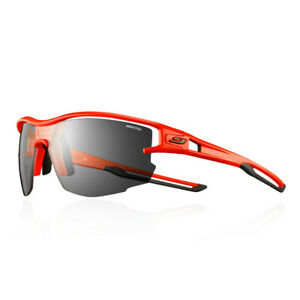 Julbo Unisex Aero Sunglasses Black Orange Sports Running Lightweight