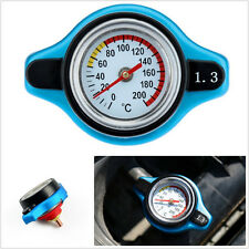 Professional Small Head Car Thermost Radiator Cap Cover& Water Temp Gauge Meter