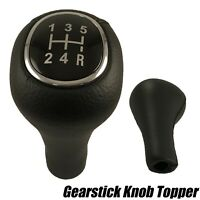GEAR SHIFT KNOB 5 SPEED LEATHER FOR FORD FOCUS MK1 98-05 1069044 XS4R-7217-AA