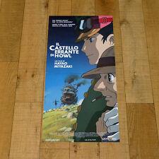 IL CASTELLO ERRANTE DI HOWL locandina poster Hauru no ugoku shiro Miyazaki W21