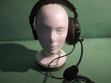 1 muff headsets 4 Clear Com RTS telex RADIO COM als rydel eartec #CC300269501-1