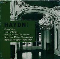 Haydn Piano Trios CD NEW Trio Fontenay Ter Linden Van Asperen Karttunen