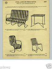 1932 PAPER AD 6 PG Lloyd Spring Steel Loom Woven Fiber Weave Furniture Chair