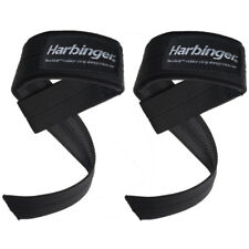 Harbinger Big Grip No-Slip Padded Weight Lifting Straps