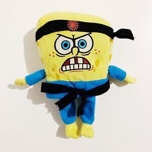 """Spongebob Squarepants Karate Nickelodeon 2006 10"""" Plush Toy"""
