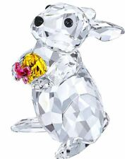 Nib $159 Swarovski Crystal Figurine Rabbit With Easter Egg Bunny # 5274174