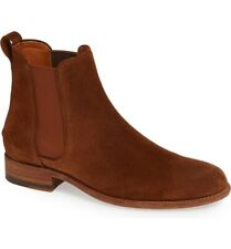 Two24 By Ariat 245977 Womens Parker Chelsea Boots Cognac Suede Size 9 B Medium