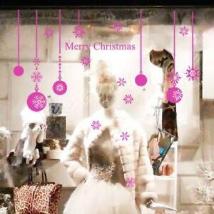Christmas Ball Show Window Shopwindow Wall Art Decoration Sticker from 20 Colour