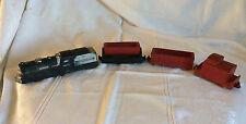 Arcor Safe Play Toys USA Train Set Four Pieces Rubber