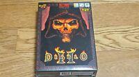 Super Rare Diablo 2 Blizzard Korean Ver PC Windows Game DVD Collector Item