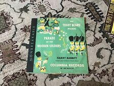 1949 Columbia 10 Inch Record The Teddy Bears Picnic-Harry Babbitt