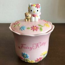 New listing Hello Kitty Ceramic Fairy Kitty Flower Candy Pot Kitchen Pot Flower Relief A