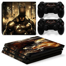 Batman - PS4 Pro Protective Skin Stickers Console & 2 Controllers - 1410