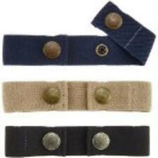 Dapper Snapper Baby & Toddler Adjustable Belt- Boys Colors: Navy, Beige & Bla Ne