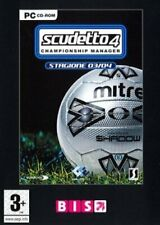 SCUDETTO 4 CHAMPIONSHIP MANAGER STAGIONE 2003/2004 X PC NEW SIGILLATO ITA PAL EU