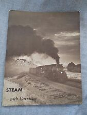 VINTAGE 1966 STEAM WITH VARIATION PICTURE BOOK BY RICHARD F. LIND