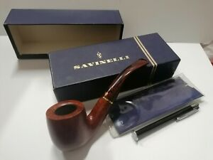 Pipa Savinelli Bruna  622 KS fumata