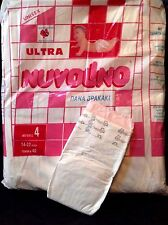 Vintage Nuvolino Diapers Plastic Sz 4 Large From Italy